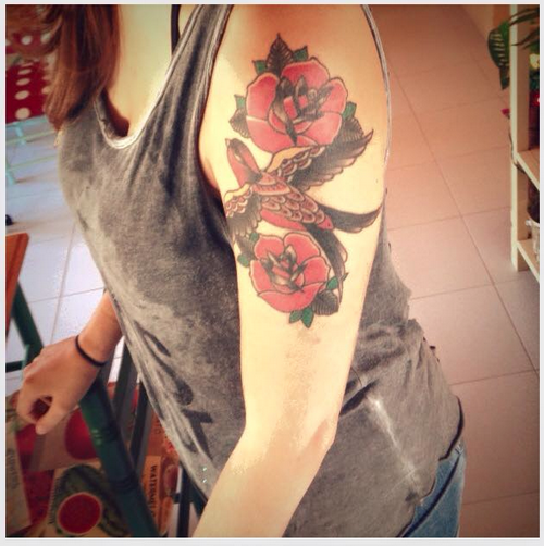 Flower Tattoo @ Les Voltes