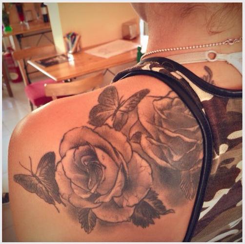 Flower Tatto @ Les Voltes