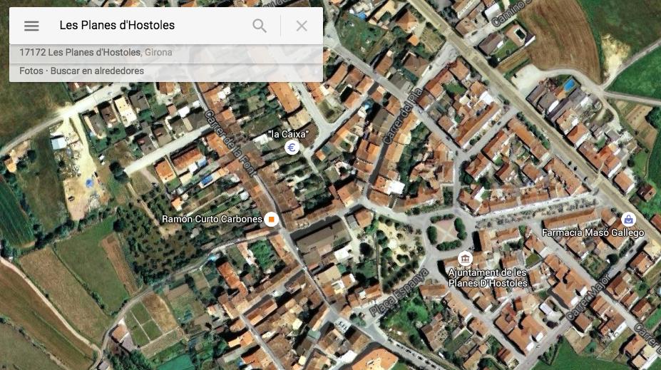 Clikar enllaç a Google Maps